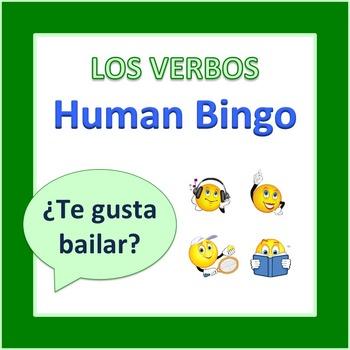 Los Verbos and Gustar Human Bingo