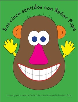 Los cinco sentidos/Five Senses Unit