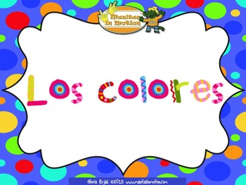 Los colores – Songbook Mp3 Digital Download