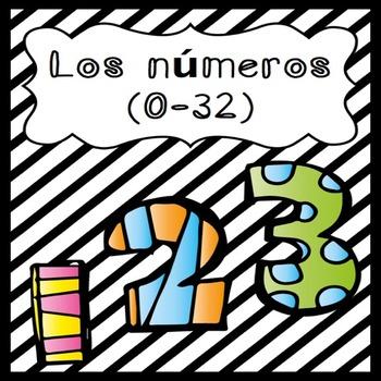 Los números (0-32)