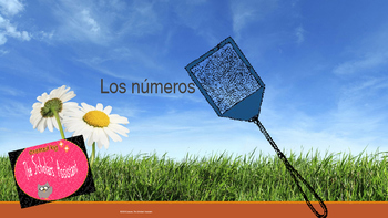 Los números Interactive Spanish Vocabulary Game