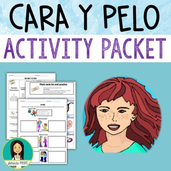 Los Adjetivos / Spanish adjectives with Tener Activity Packet