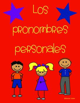 Los pronombres personales/Subject pronouns
