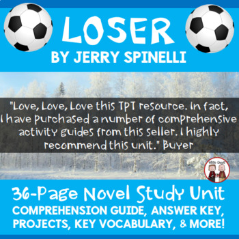 Loser Novel Unit