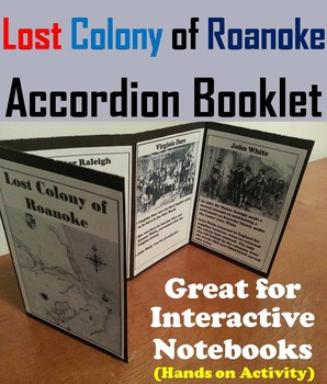 Early America: Lost Colony of Roanoke Interactive Notebook