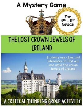 Lost Crown Jewels of Ireland - Mystery Game - Great Ice Br