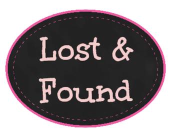 Lost & Found Label