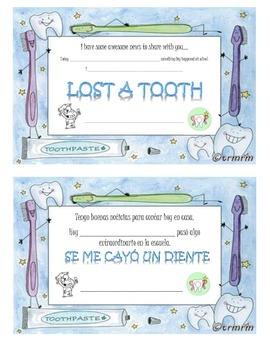 Lost Tooth/Se me cayo un diente