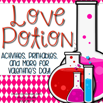 Valentine's Day Love Potion Printables {Valentine's Day wi