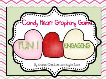 Candy Heart Graph for Kindergarten and First Grade