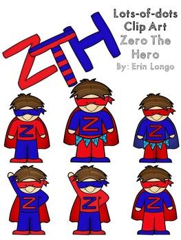 Lots-of-dots- ZERO THE HERO- Clip Art