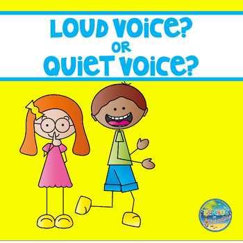 Quiet Voice or Loud Voice ?????????