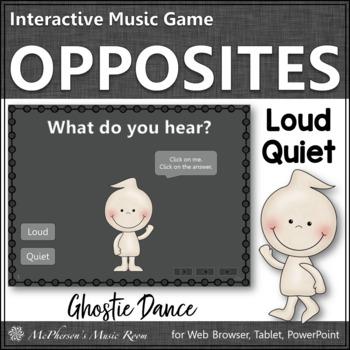 Loud vs Quiet - Ghostie Dance Interactive Music Game {dynamics}