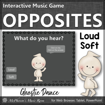 Loud vs Soft - Ghostie Dance Interactive Music Game {dynamics}