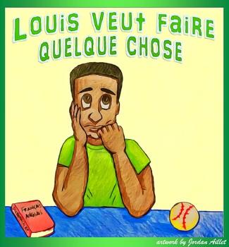 Louis veut faire quelque chose - beginner French CI / TPRS