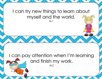 """4-Year-Old """"I Can"""" Statements"""