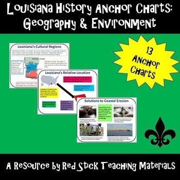 Louisiana History Anchor Charts: Geography and the Environment