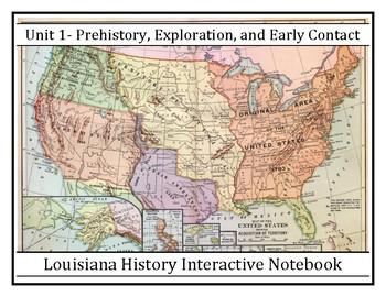 Louisiana History - Complete Unit 1 - Prehistory, Explorat