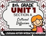 Louisiana History - Unit 1A - Cultural Diffusion