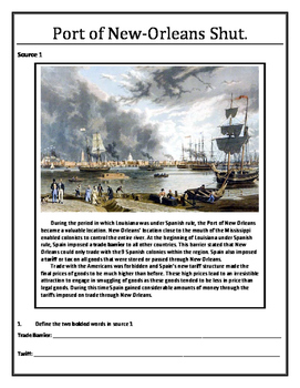 Louisiana History - Port of New-Orleans Shut
