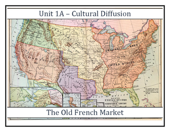 Louisiana History - The Old French Market