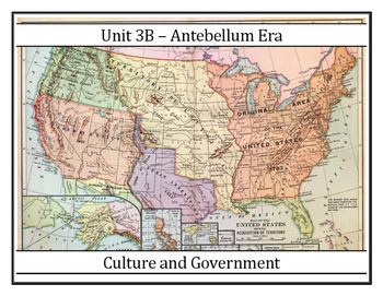 Louisiana History - Unit 3B - Antebellum Politics/Governme