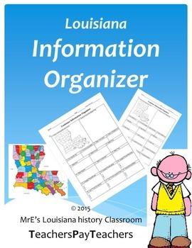 Louisiana Information Organizer