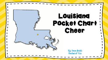 Louisiana Pocket Chart Cheeer