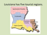 Louisiana Tourist Regions