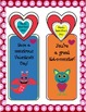 Lovable Monsters Valentine Bookmarks