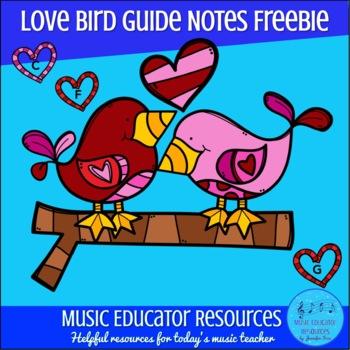 Love Bird Guide Notes FREEBIE