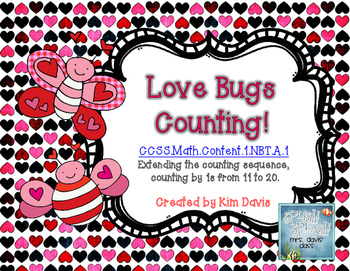 Love Bugs Counting Math Puzzles