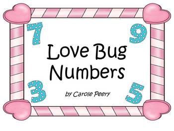 Love Bugs-Number Cards