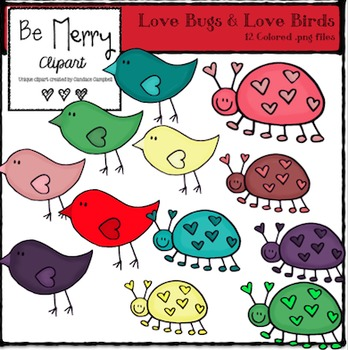 Love Bugs and Love Birds