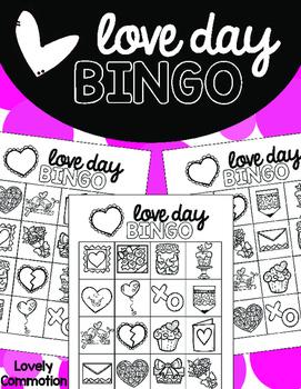 Love Day Bingo