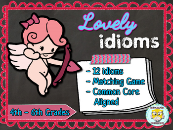 Valentines Day Idiom Task Cards