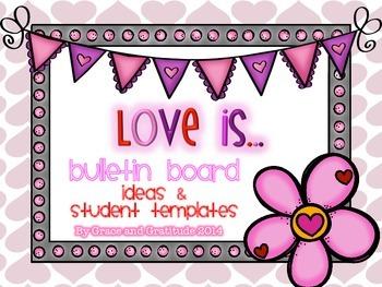 Love Is...Bulletin Board Idea Based on 1 Corinthians 13