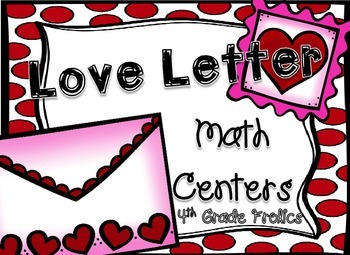 Love Letter Math Centers