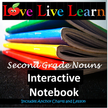 Love Live Learn Second Grade Nouns Interactive Notebook