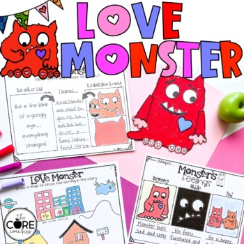 Love Monster Lesson Plans and Activities