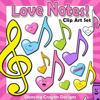 Music Notes - Love Notes