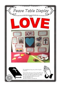 Love Prayer Table Display - Freebie