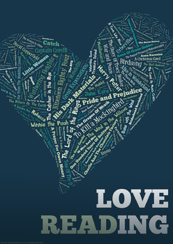 Love Reading Poster