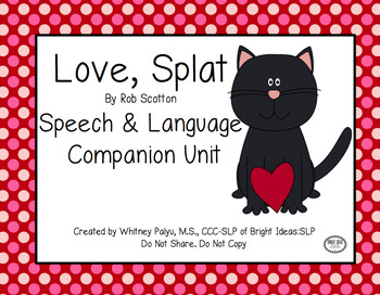 Love, Splat - Speech & Language Unit