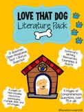 Love That Dog Literature Pack