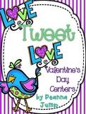 Love Tweet Love Valentine Centers Common Core Aligned