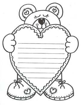Love You 'Beary' Much! (with lines)
