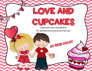 Valentine's Day Supplements for Interactive Literacy Noteb
