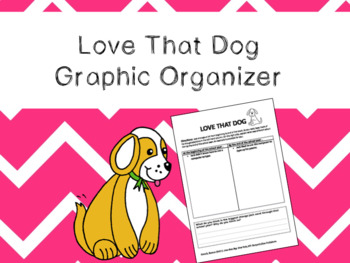 Love that Dog Graphic Organizer