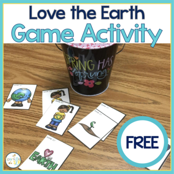 Love the Earth Reinforcement Activity